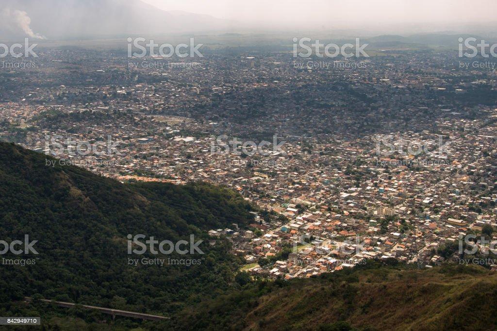 Rio de Janeiro Suburbs stock photo