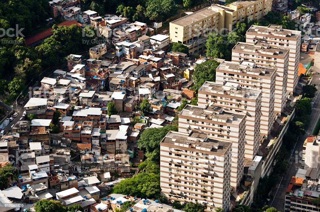 Rio de Janeiro Urban Contrast stock photo
