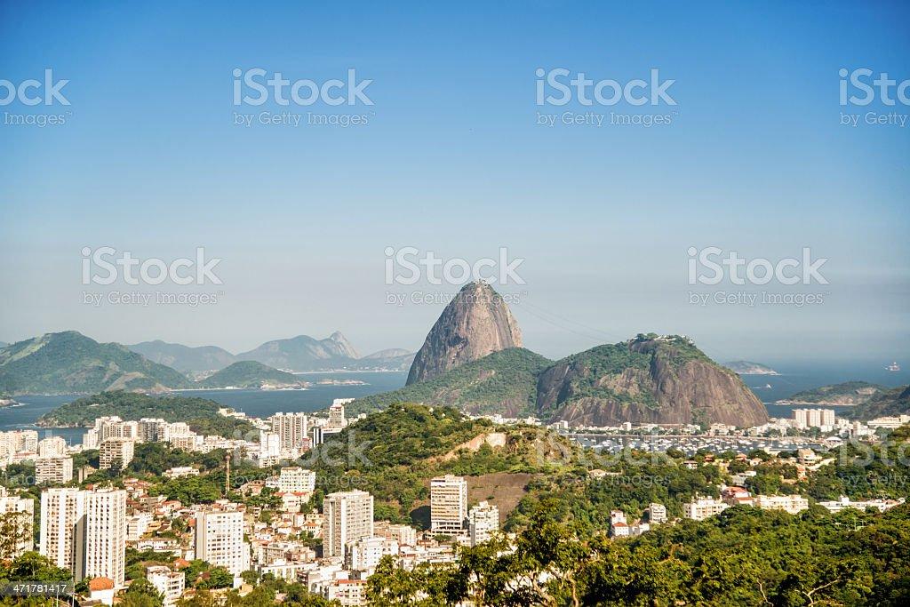 Rio de Janeiro view royalty-free stock photo