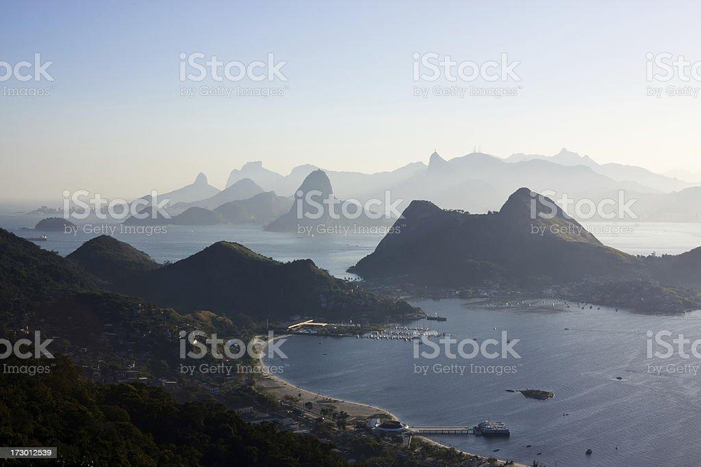 Rio de Janeiro's Landscape stock photo