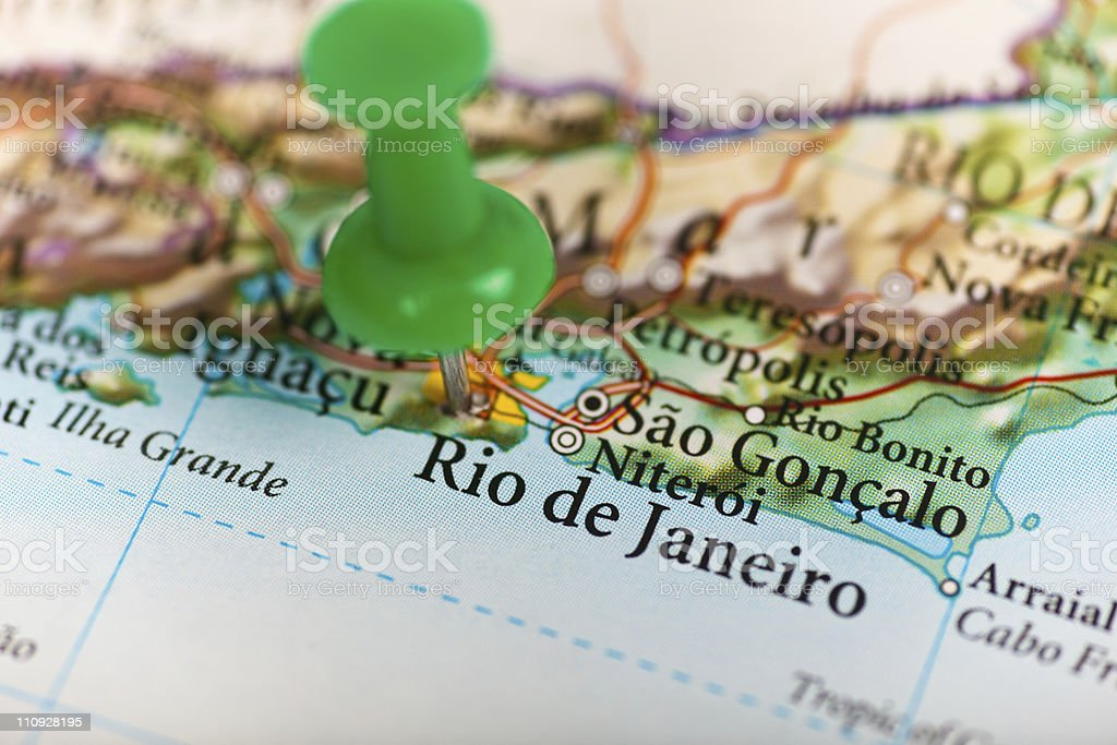 Rio de Janerio, Brasil royalty-free stock photo