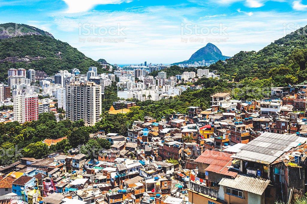 Rio De Janiero view. stock photo