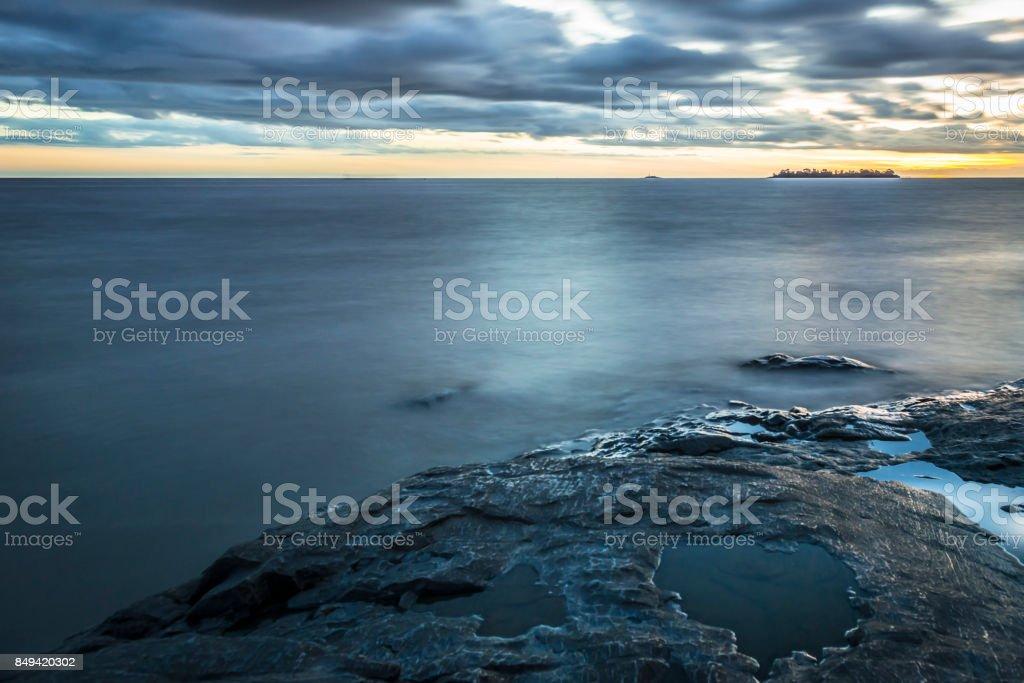 Rio de la Plata - Uruguay stock photo