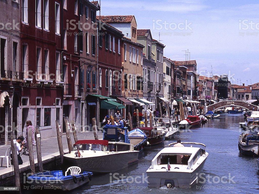 Rio del Vetral in Murano. Venice. Italy royalty-free stock photo