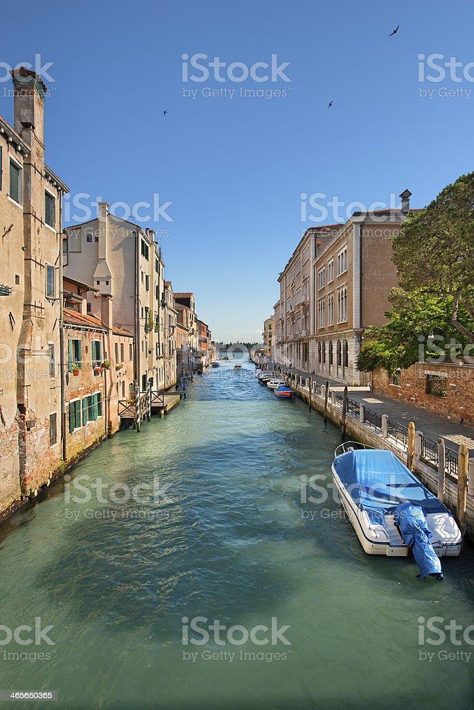 Rio Di San Giustina (Venice) royalty-free stock photo