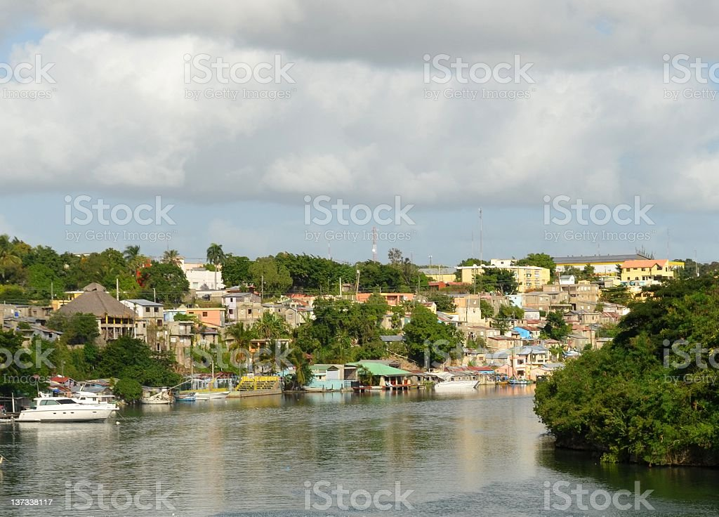 Rio Dulce, La Romana stock photo