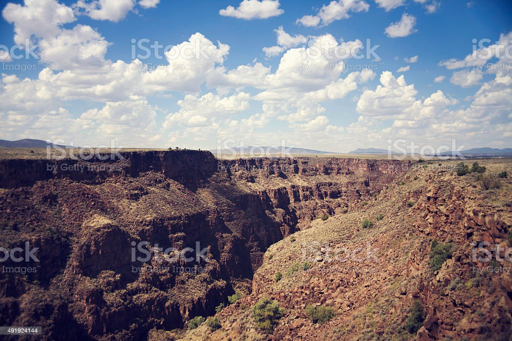 Rio Grade Gorge stock photo
