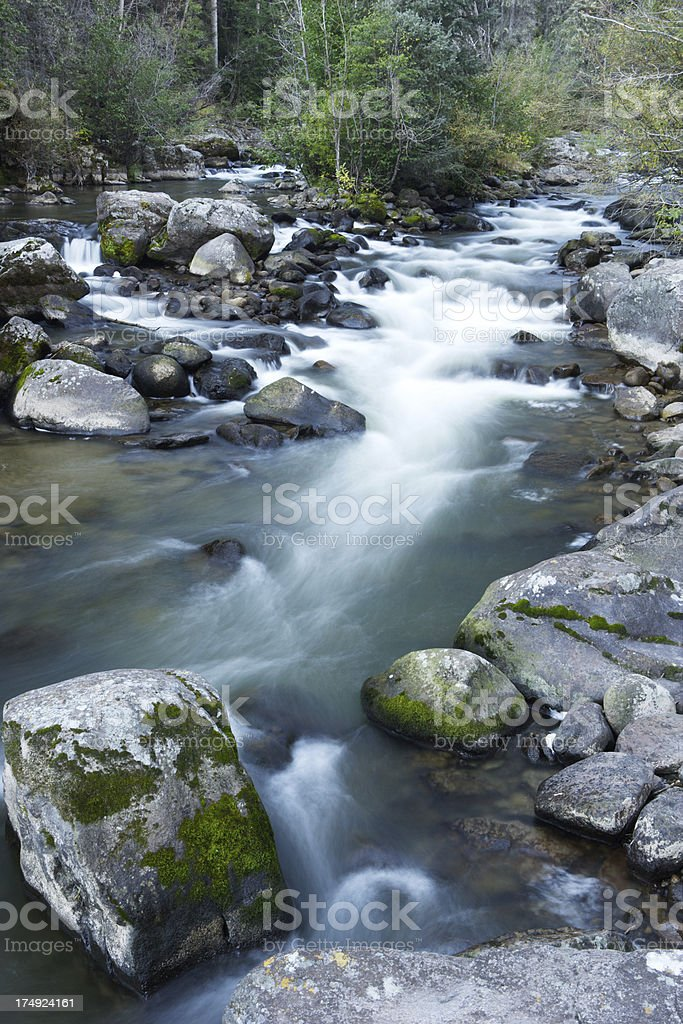 Rio Grande Headwaters royalty-free stock photo