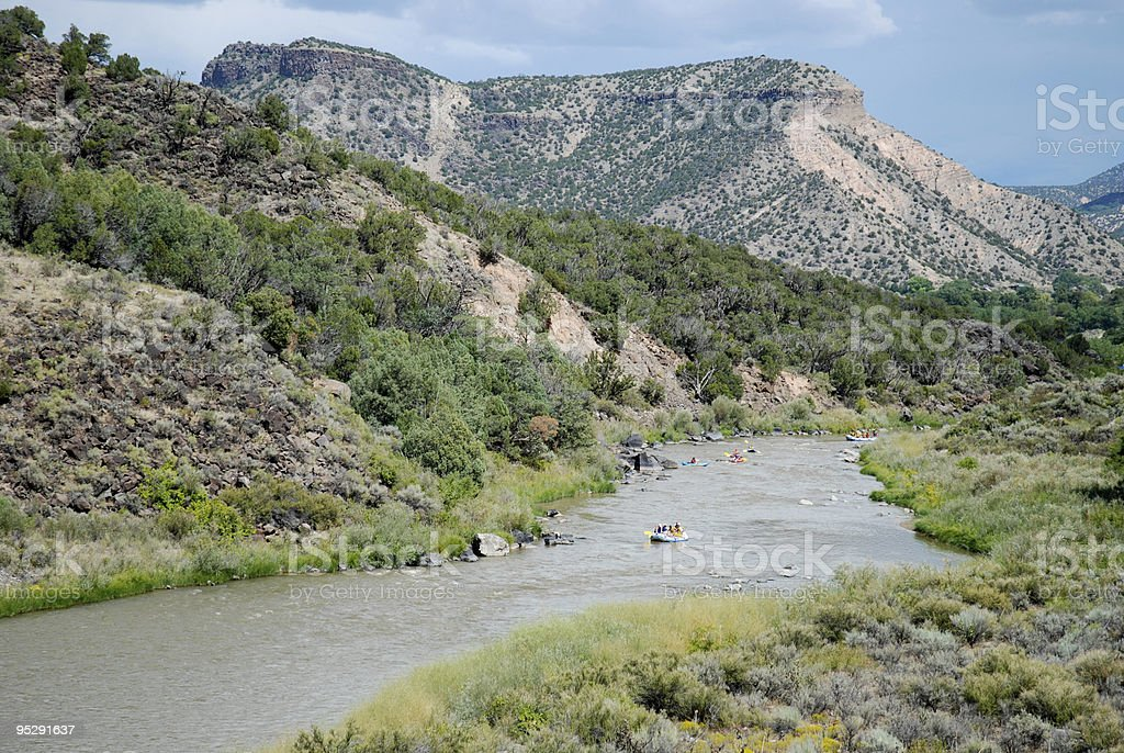 Rio Grande royalty-free stock photo