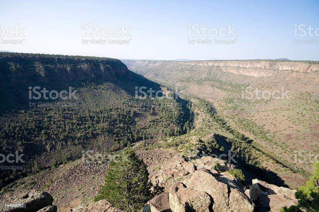 Rio Grande River Gorge, Near Taos New Mexico, Terminator Salvation royalty-free stock photo