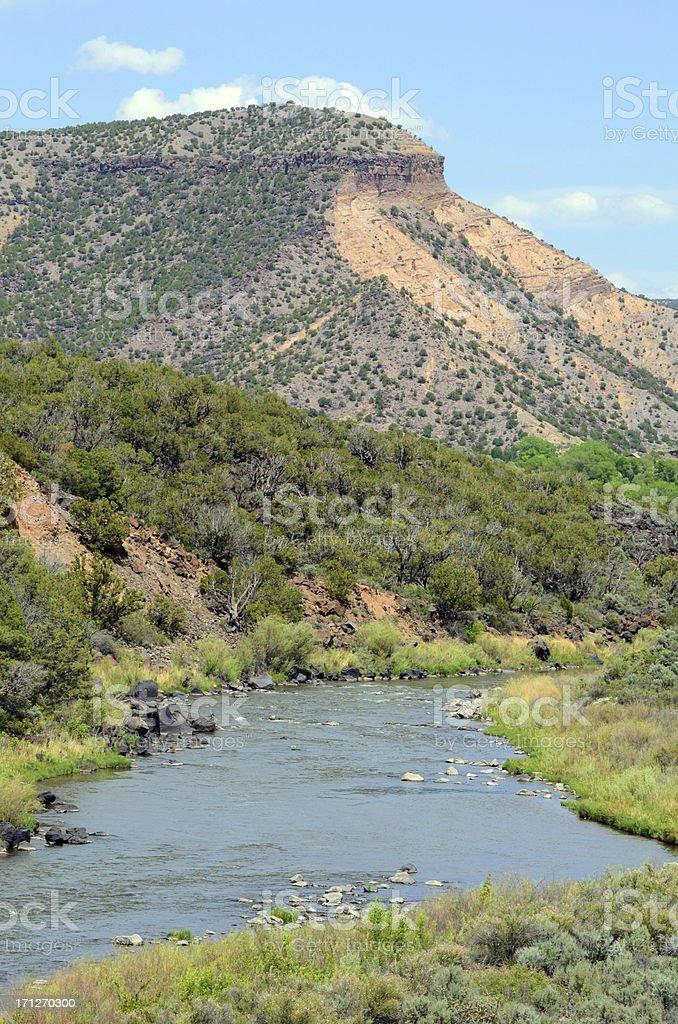 Rio Grande River royalty-free stock photo