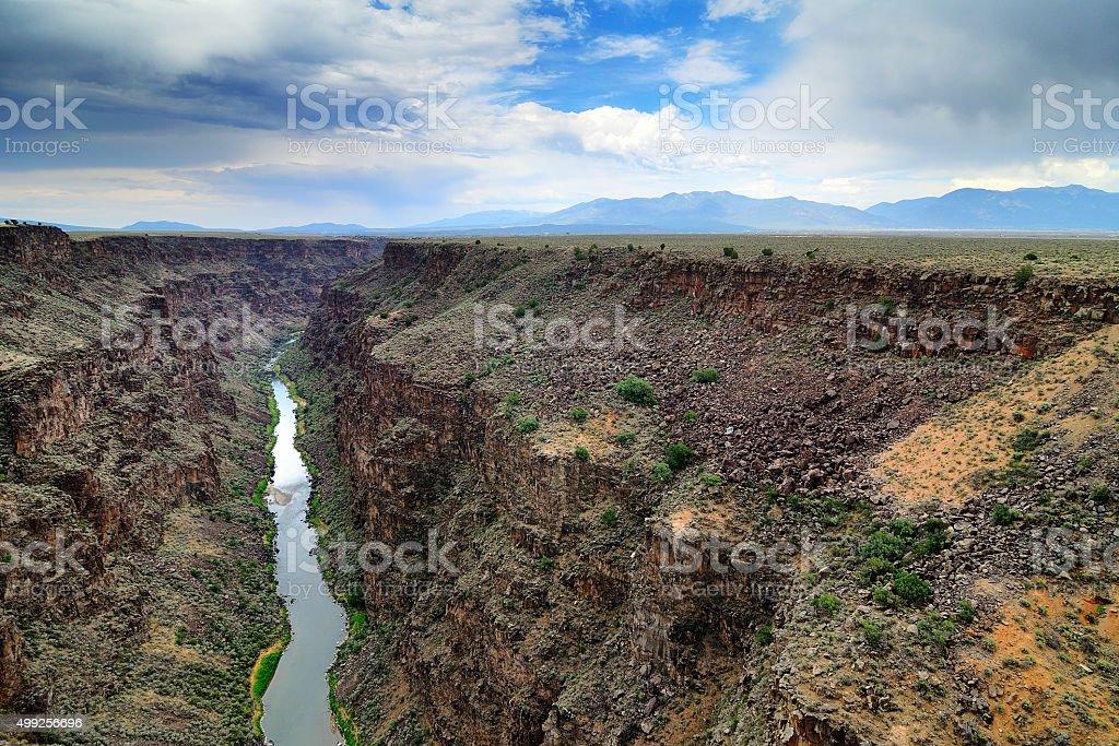 Rio Grande River stock photo