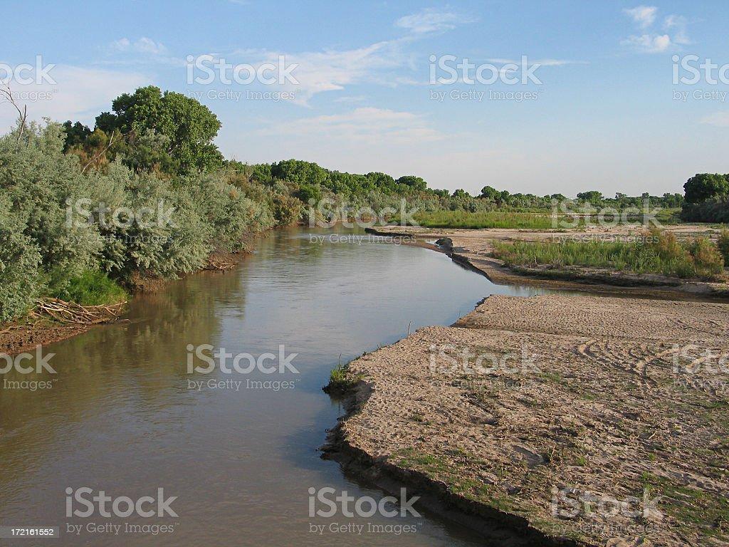 Rio Grande - Summer royalty-free stock photo