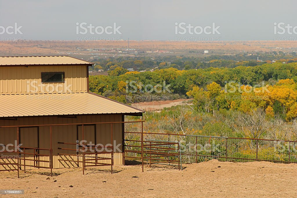 Rio Grande Valley royalty-free stock photo