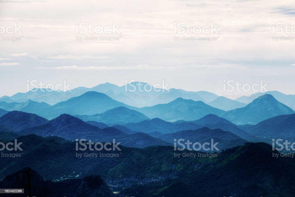 Rio Hills royalty-free stock photo