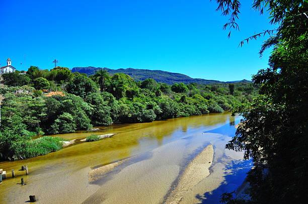 Rio Jequitinhonha Diamantina Minas Gerais - foto de acervo