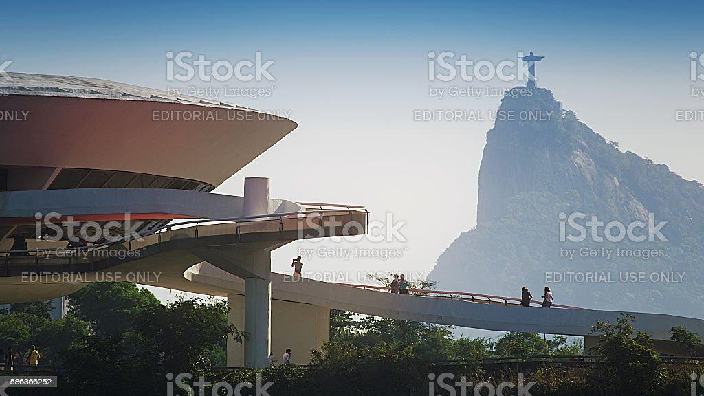 Rio Niteroi stock photo
