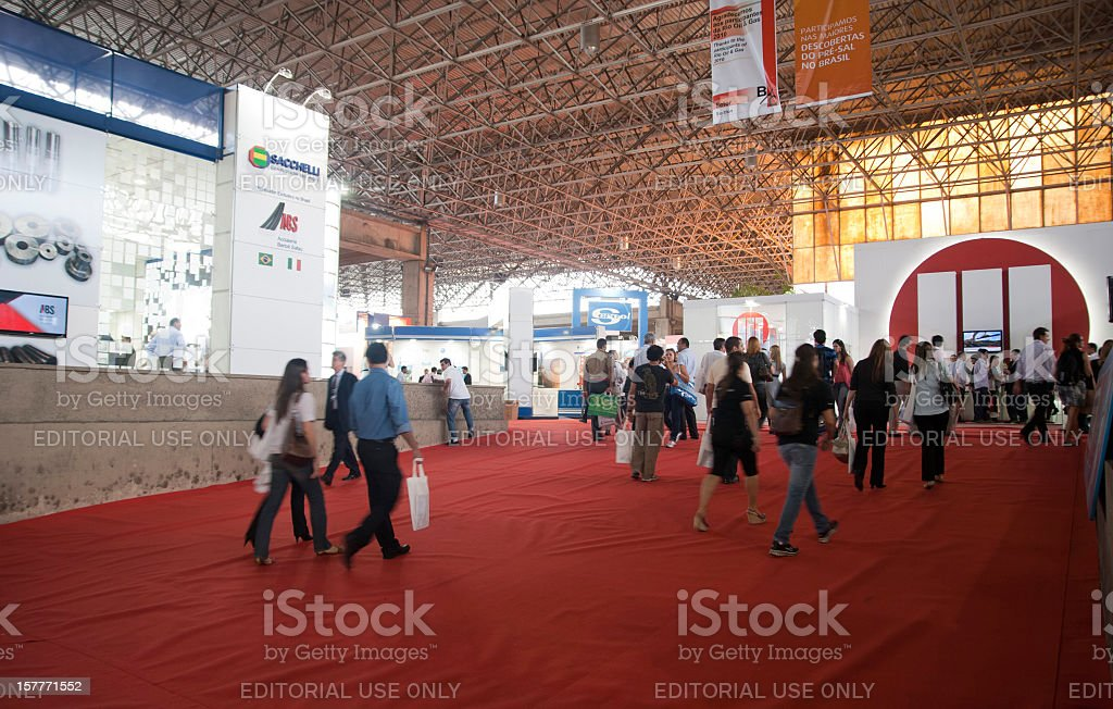 Rio Oil E Gas Expo stock photo