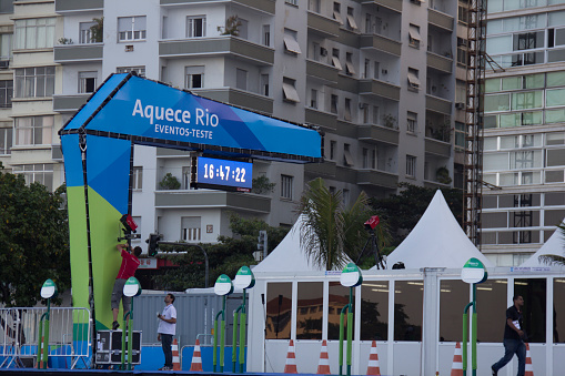 Rio performs test events ahead of Rio 2016 Olympic Games