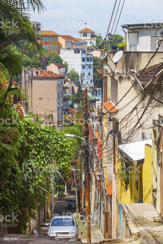 Rio streets. stock photo