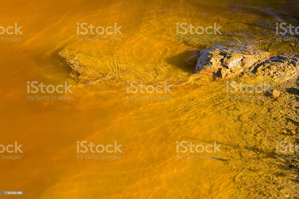 Rio Tinto, Spain stock photo