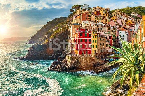 istock Riomaggiore, Cinque Terre, Italy 489139422