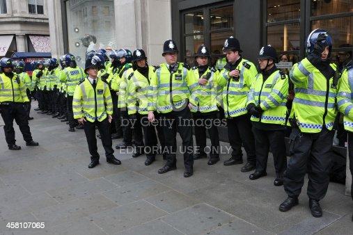 istock Riot Police in London 458107065