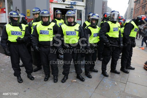 istock Riot Police in London 458727597
