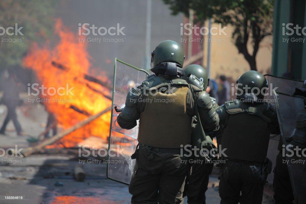 Bereitschaftspolizist – Foto