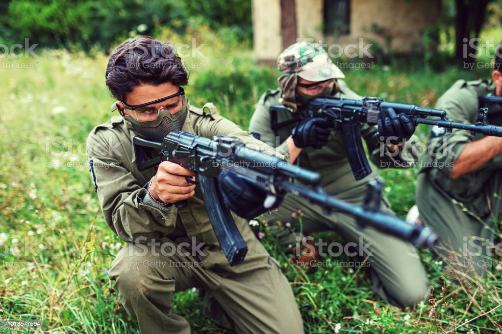 Riots and social unrests in Middle East stock photo