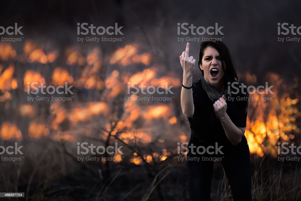 Riots, terrorism, aggression, violence, arson, mayhem,protest concept royalty-free stock photo