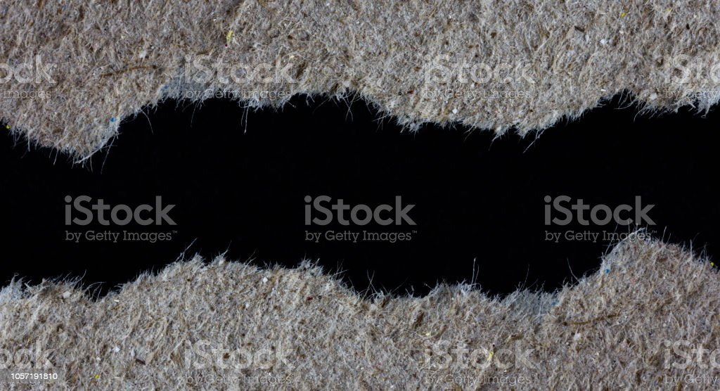 rip paper close up texture or background stock photo
