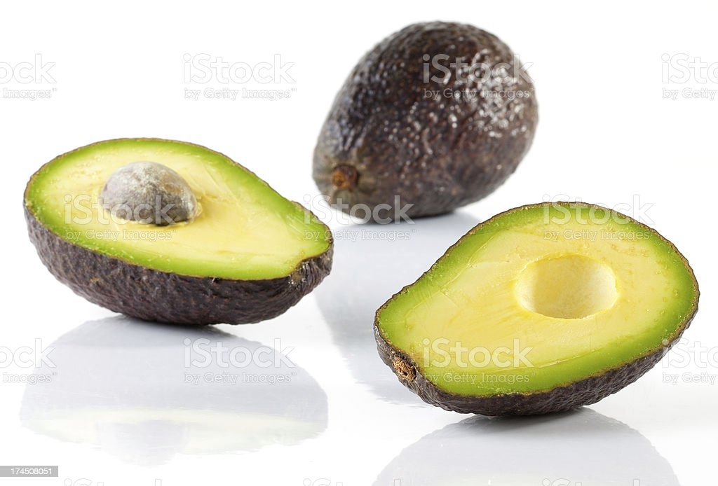 Ripe Avocado! stock photo