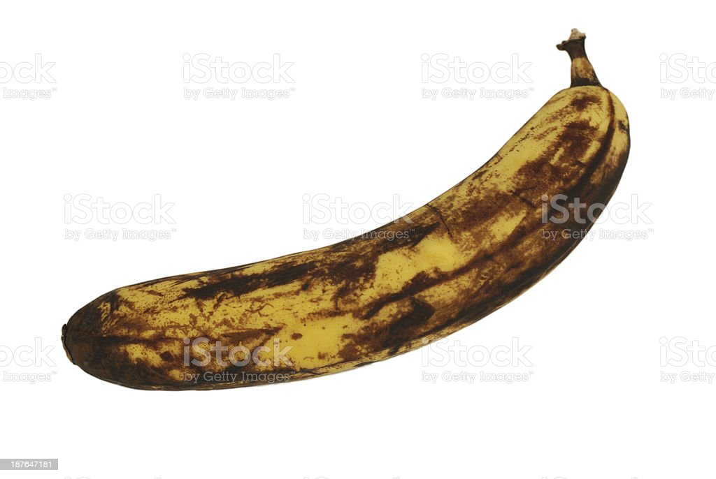 ripe banana stock photo