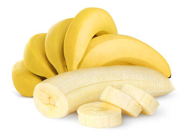 잘 익은 바나나 스톡 사진
