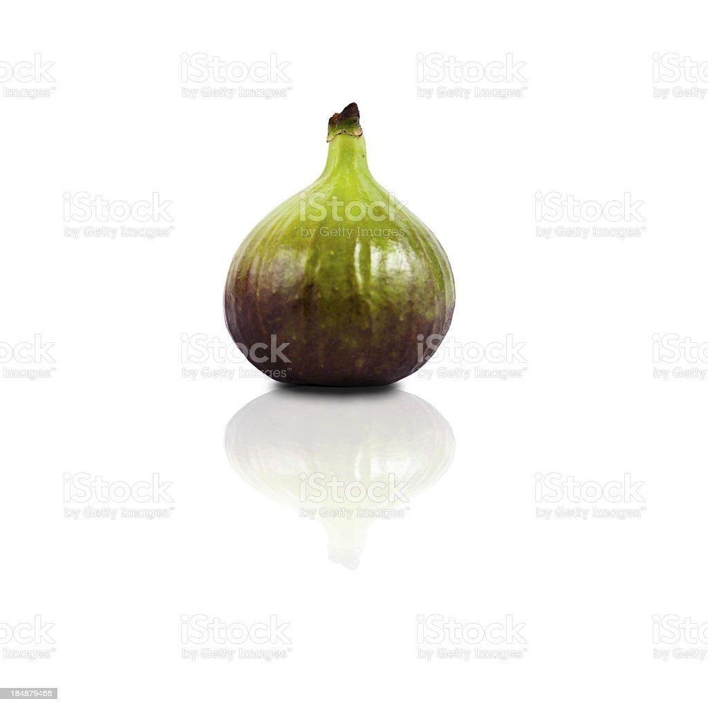 Ripe fig stock photo