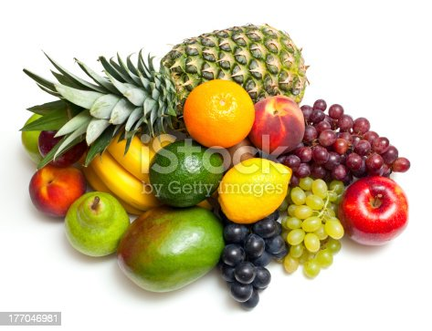 istock ripe fresh fruits background 177046981