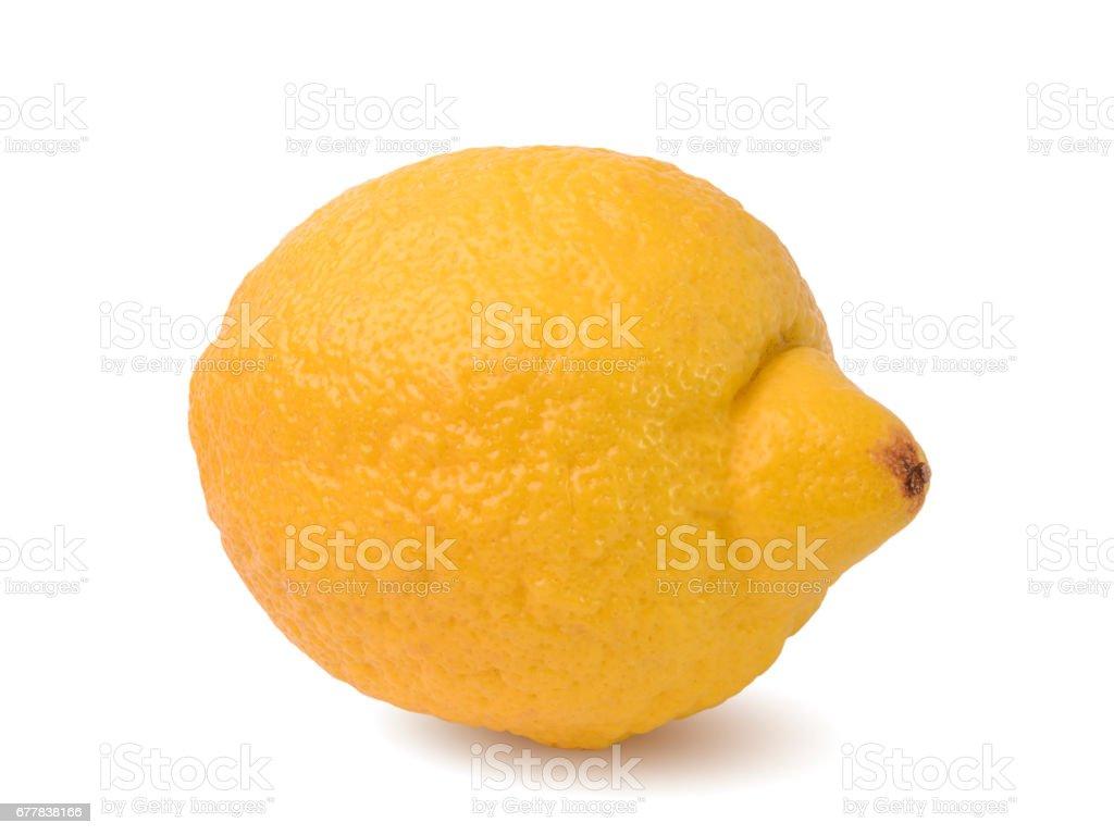 ripe fresh lemon fruit royalty-free stock photo