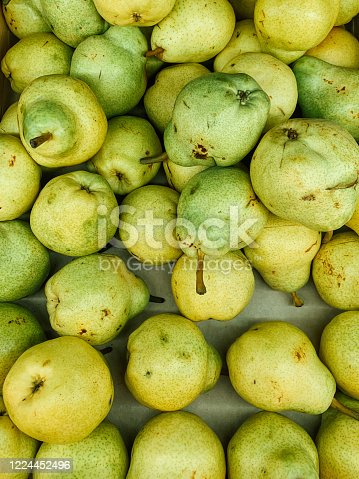 istock ripe fruit sweet pears for eating as a background 1224452496