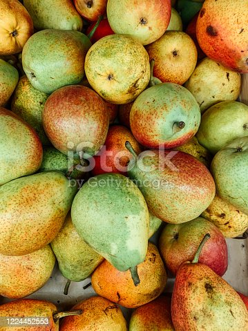 istock ripe fruit sweet pears for eating as a background 1224452553