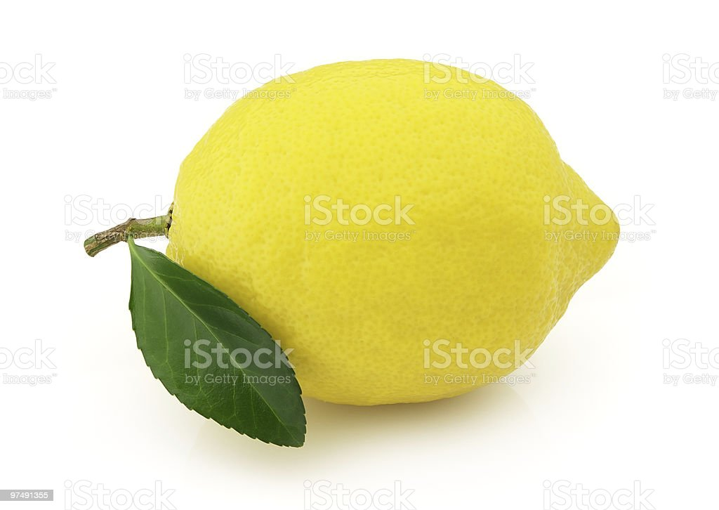 Ripe lemon royalty-free stock photo