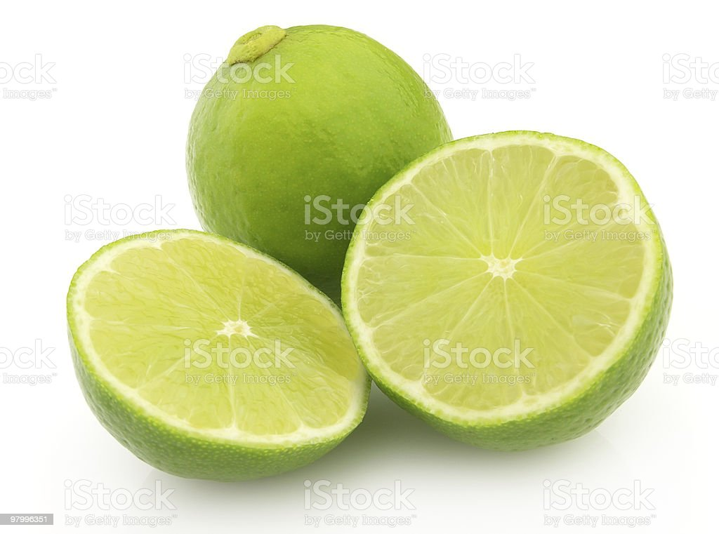 Ripe lime royalty free stockfoto