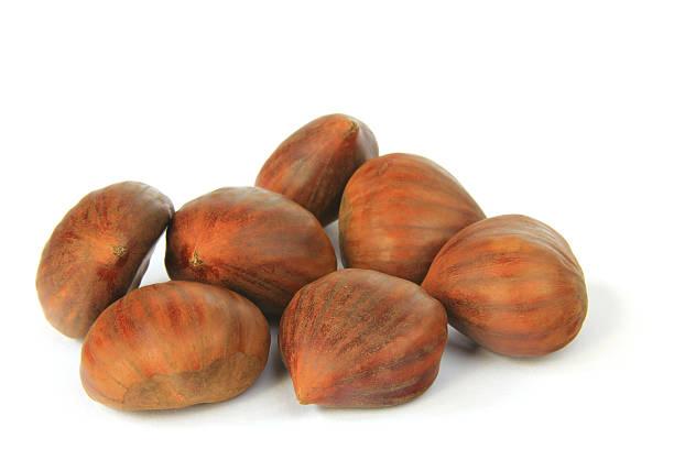 Reife maroons (Castanea sativa) – Foto