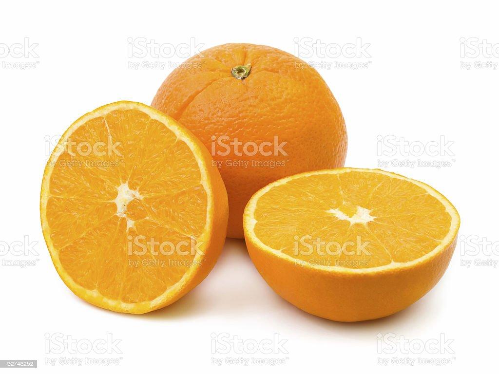 Reife orange fruit Lizenzfreies stock-foto