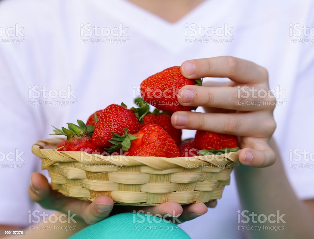 ripe organic strawberry - Стоковые фото Весёлый роялти-фри