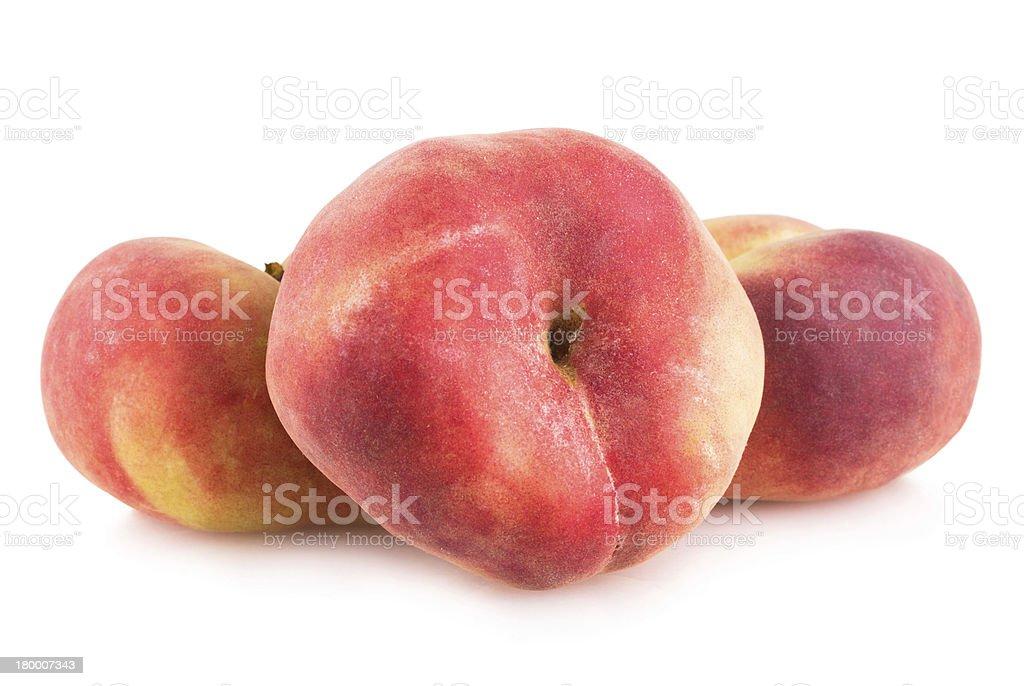 잘 익은 peaches royalty-free 스톡 사진