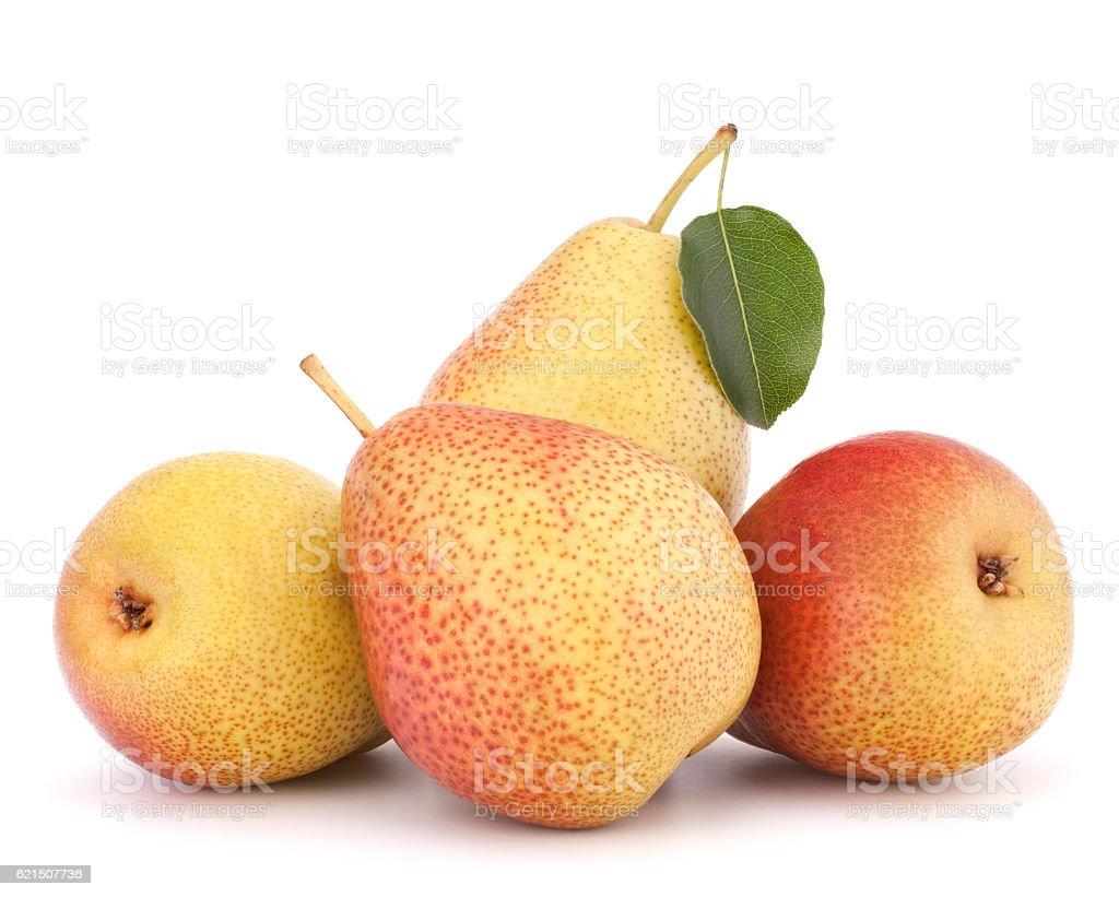 Pera maturo frutta foto stock royalty-free