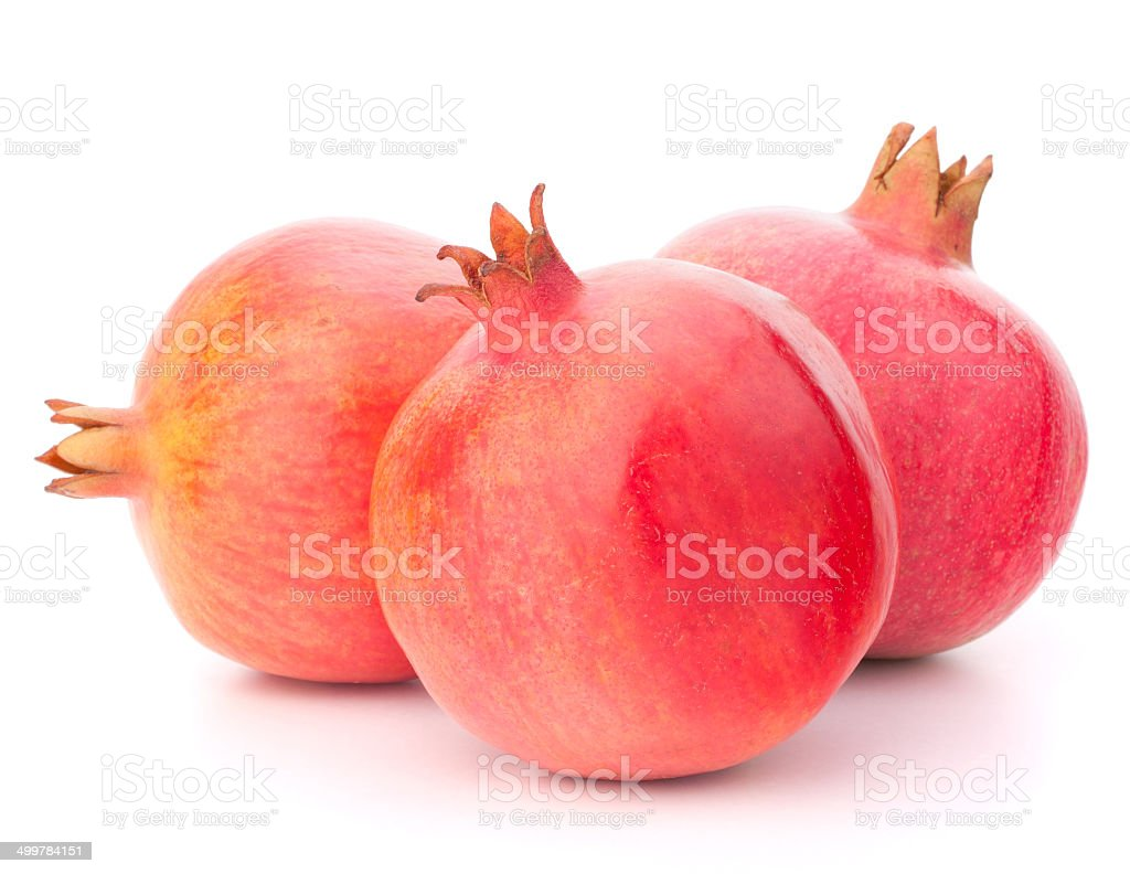 Ripe pomegranate fruit royalty-free stock photo