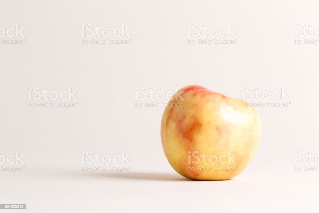 A ripe red apple - Royalty-free Backgrounds Stock Photo