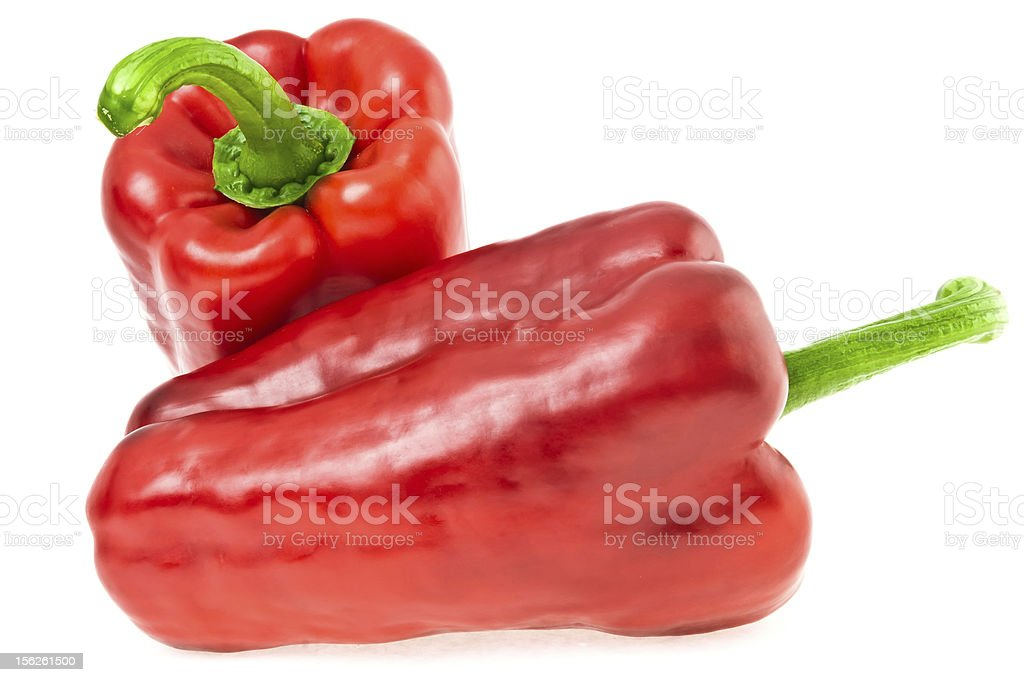 ripe red pepper royalty-free stock photo